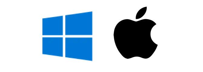 Mac ve Windows u destekler