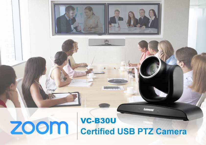 VC-B30U Zoom Certified USB PTZ Camera